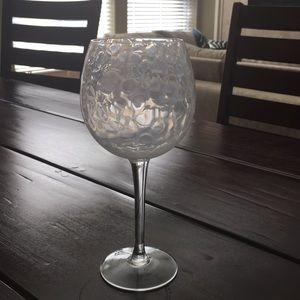 Treillage red wine glass